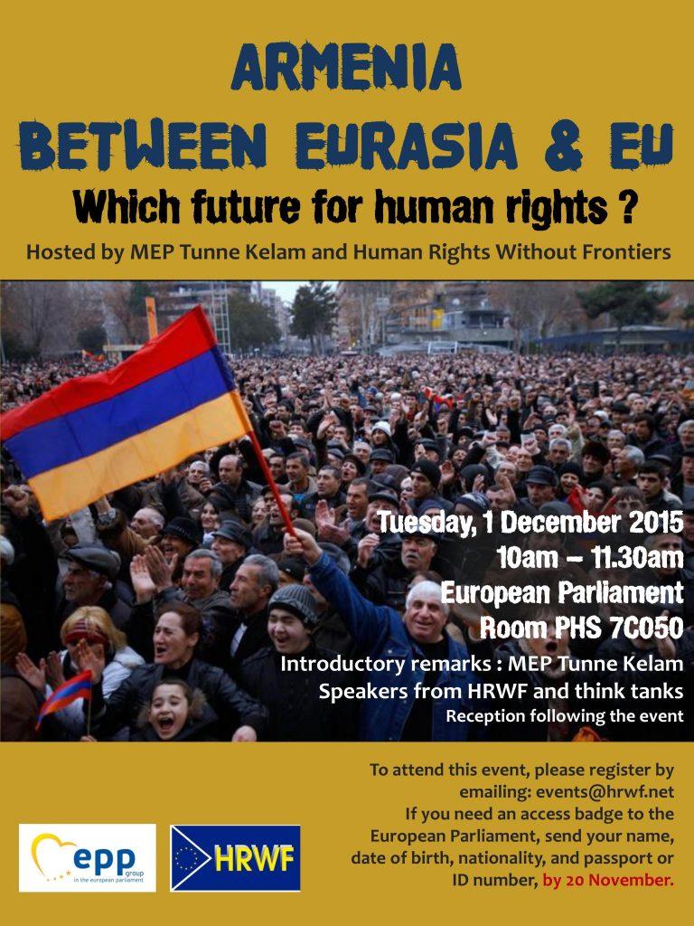 Armenia event poster.Final