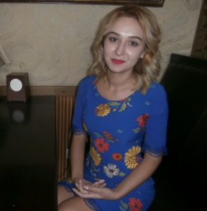 Yulia Talovaya, who was interviewed by HRWF