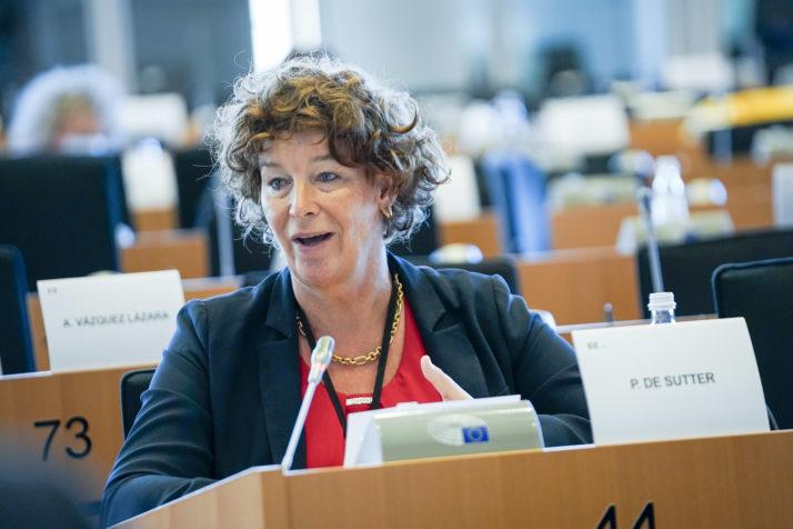 Belgium's De Sutter breaks new ground for transgender politicians