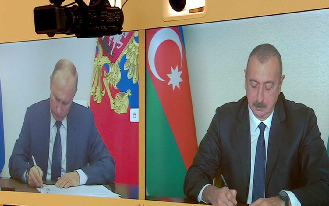 ARMENIA: Nagorno-Karabakh War: Putin destabilising Pashinyan's regime