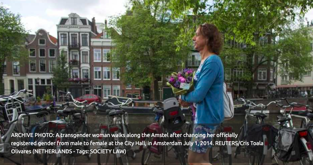 NETHERLANDS to compensate trans victims of forced sterilisation