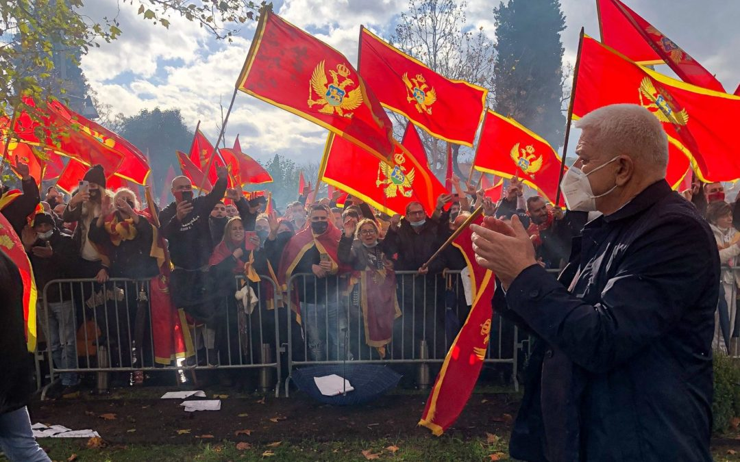MONTENEGRO 'Patriots' rally against changes to religion law