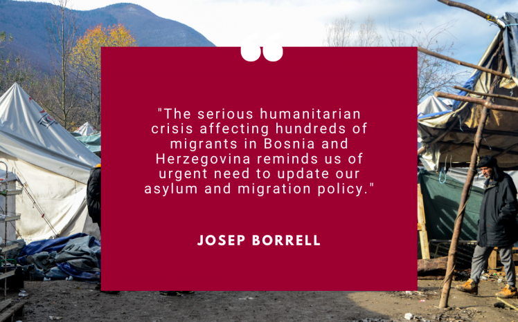 BOSNIA & HERZEGOVINA: the migration crisis is far from over