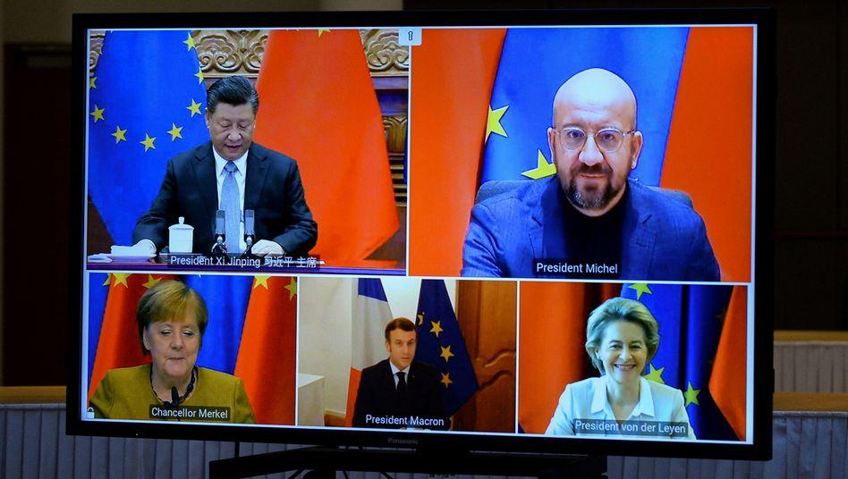 CHINA-EU: Experts Demand Suspension of EU-China Investment Deal