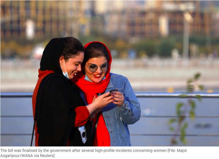 IRAN Gov't approves bill against domestic violence