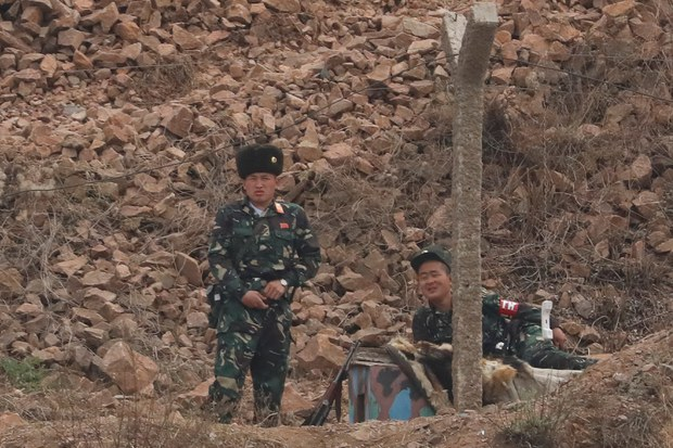 NORTH KOREA: Six North Korean soldiers cross river border to escape to China