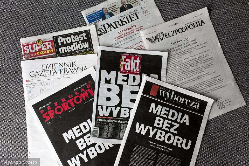 POLAND: Attack on media freedom, EU values in danger