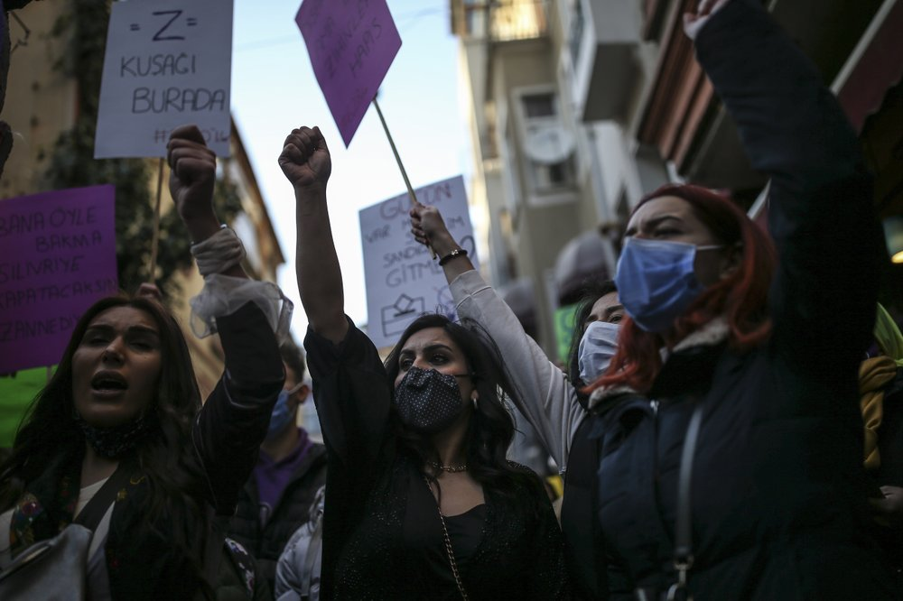 TURKEY withdraws from European treaty protecting women against domestic violence