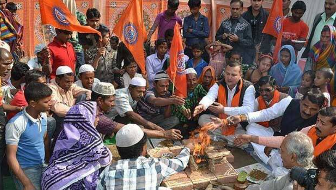 INDIA: The death of secularism in India: « Homecoming » in the name of the Hindu rashtra