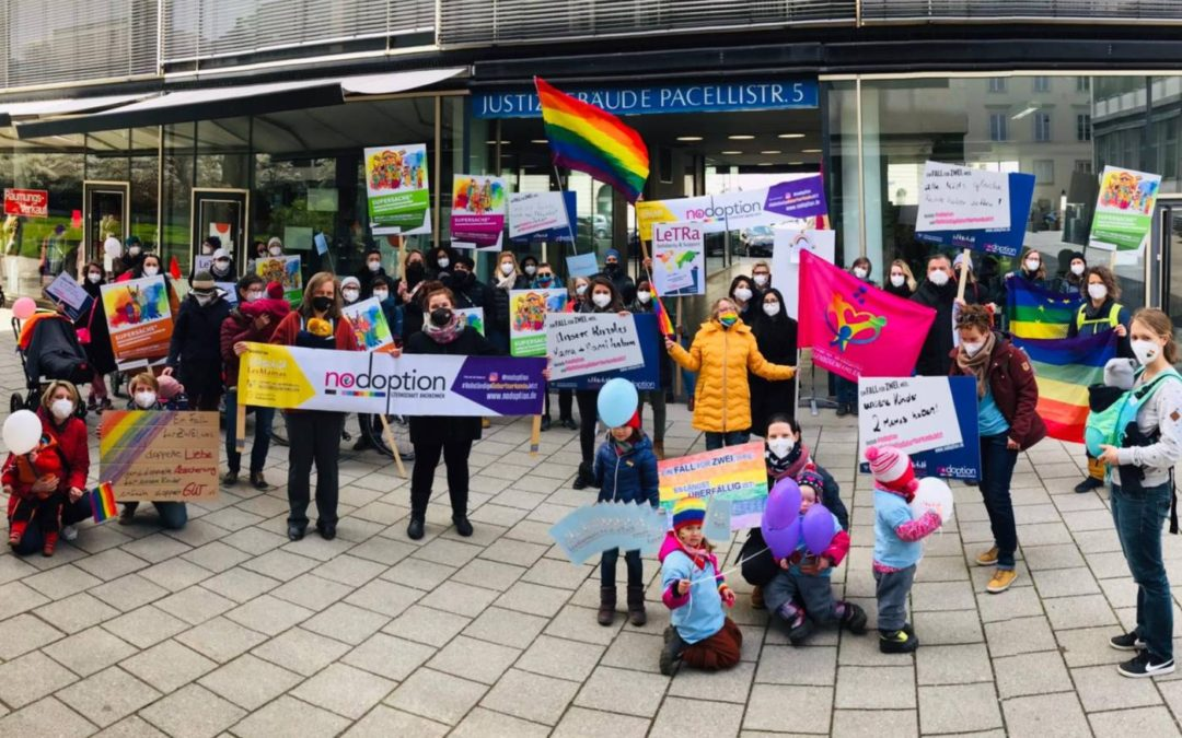 GERMANY: Lesbian mothers flood German courts with demands for parenting rights