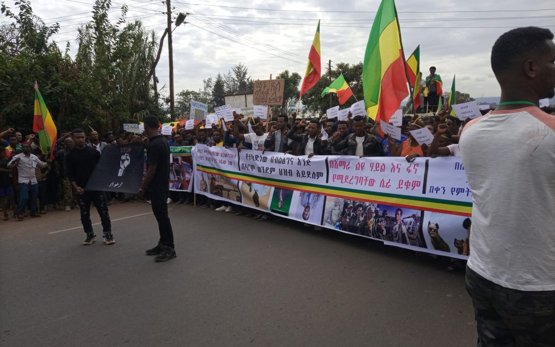 ETHIOPIA: In the shadow of the elections, Amharas are massacred in silence