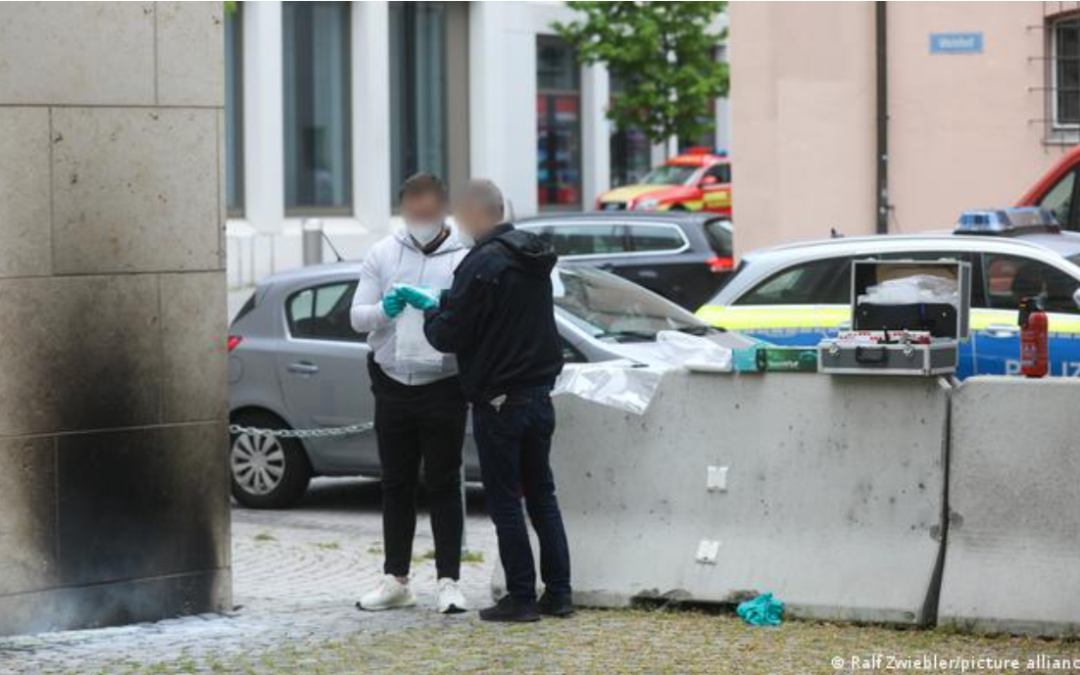 GERMANY: German police launch hunt for synagogue arsonist