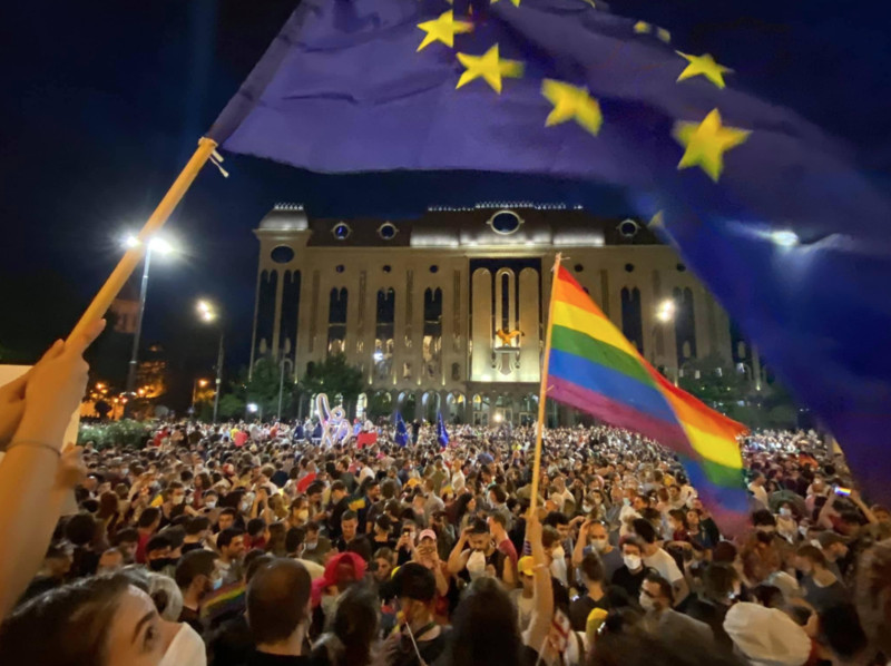 GEORGIA: Who are right-wing forces that attacked Georgia's LGBTIQ+ ?