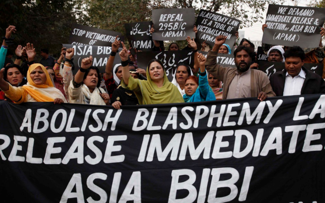 PAKISTAN: Conference told Pakistan blasphemy laws 'equated to ethnic cleansing'