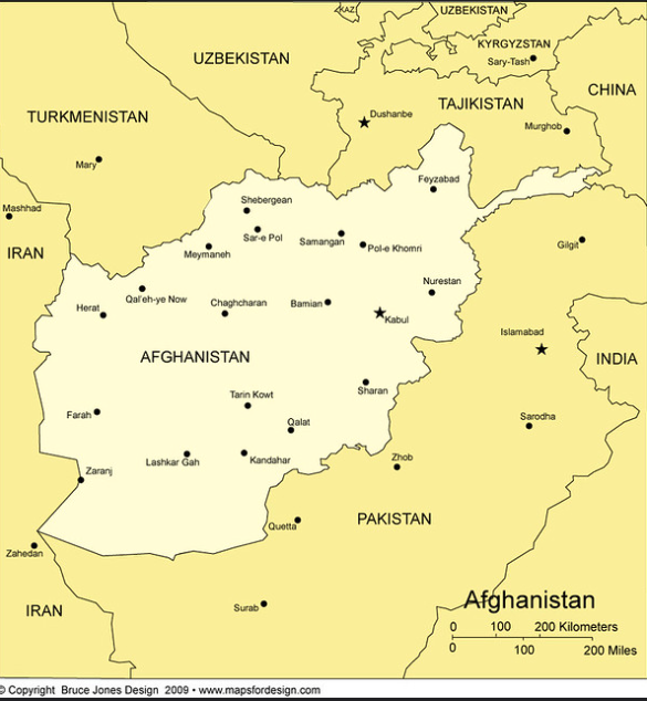 AFGHANISTAN is a source of concern for the World Evangelical Alliance