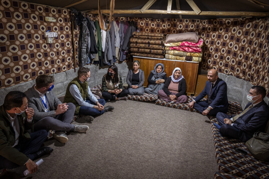 IRAQ: Hungary helps Yezidis: a project for almost 100 Yezidi women