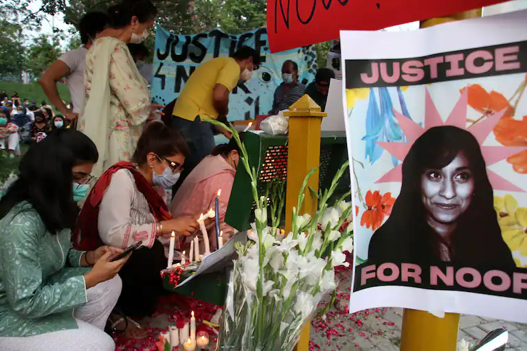 PAKISTAN: Outcry in Pakistan over beheading of ex-ambassador's daughter