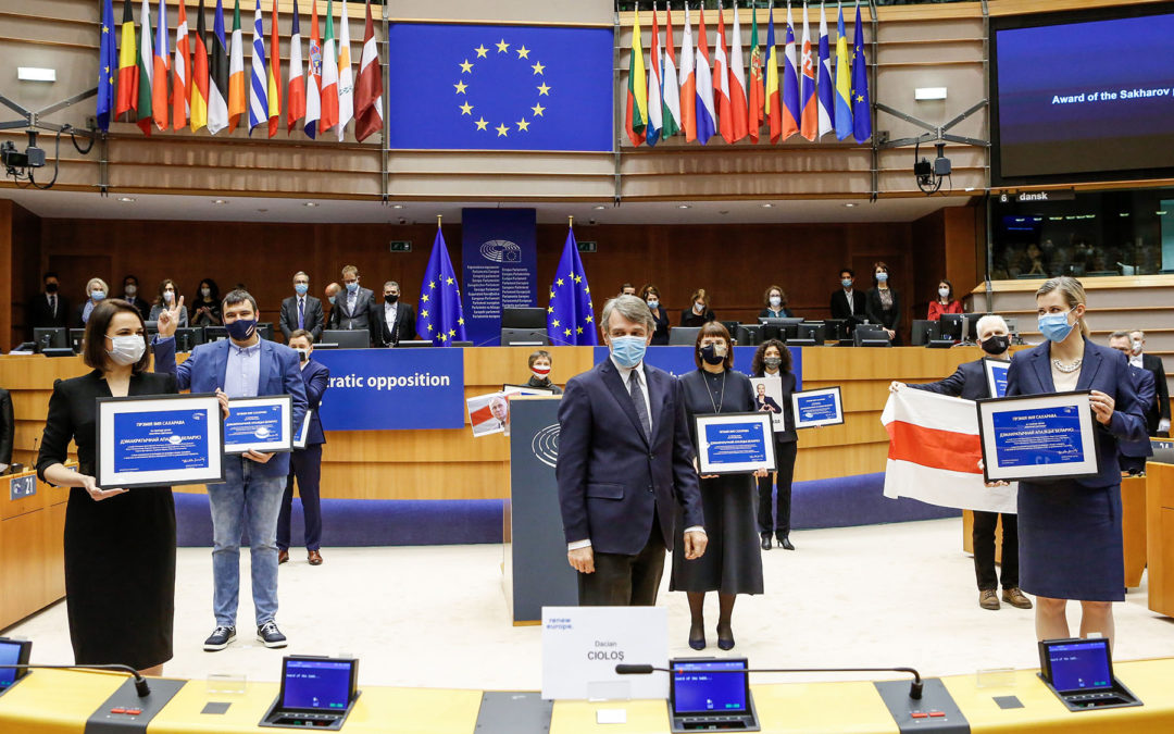 EU: Sakharov Prize 2021: Candidates nominated by the political groups