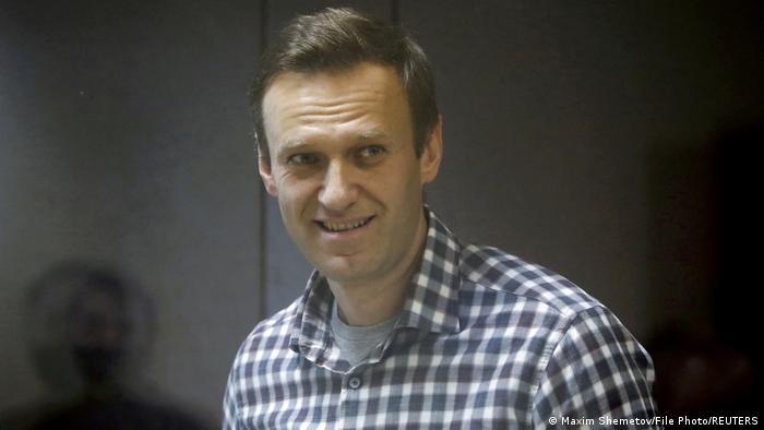 EU – RUSSIA: Kremlin critic Alexei Navalny wins 2021 Sakharov Prize